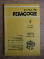 Anticariat: Revista de pedagogie, nr. 4, aprilie 1984