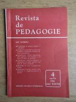 Revista de pedagogie, nr. 4, aprilie 1988