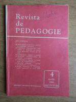 Revista de pedagogie, nr. 4, aprilie 1989
