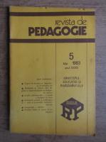 Revista de pedagogie, nr. 5, mai 1983
