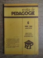 Anticariat: Revista de pedagogie, nr. 6, iunie 1982