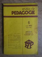 Revista de pedagogie, nr. 6, iunie 1983