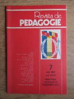 Anticariat: Revista de pedagogie, nr. 7, iulie 1985