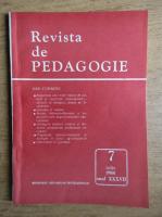 Revista de pedagogie, nr. 7, iulie 1988