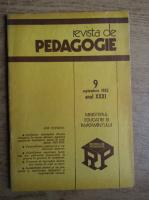 Anticariat: Revista de pedagogie, nr. 9, septembrie 1982