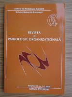 Anticariat: Revista de psihologie organizationala, volumul IX, nr. 1-2, anul 2009