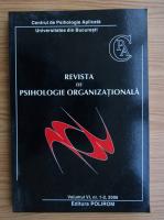 Anticariat: Revista de psihologie organizationala, volumul VI, nr. 1-2, anul 2006
