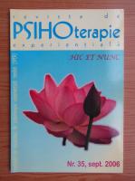 Anticariat: Revista de psihoterapie experientiala, nr. 35, septembrie 2006