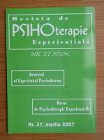 Anticariat: Revista de psihoterapie experientiala, nr. 37, martie 2007