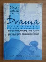 Anticariat: Revista Drama, nr. 2-3, martie-iunie 2002