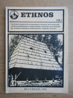 Anticariat: Revista Ethnos, nr. 1, 1992
