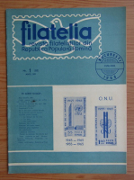 Anticariat: Revista Filatelia, nr. 1, anul XIV (85), ianuarie 1965