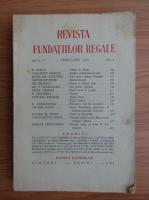Anticariat: Revista Fundatiei Regale, Anul V, nr. 2, 1938