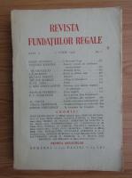 Anticariat: Revista Fundatiei Regale, Anul V, nr. 6, 1938