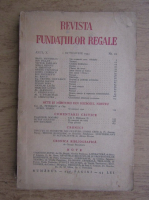 Anticariat: Revista Fundatiei Regale, Anul X, nr. 10, 1943