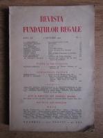 Revista Fundatiilor Regale, Anul IX, nr. 1, 1942