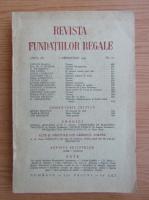 Anticariat: Revista Fundatiilor Regale, anul IX, nr. 12, decembrie, 1942