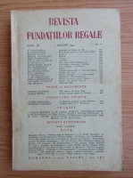 Revista Fundatiilor Regale, anul IX, nr. 8, august, 1942