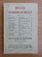 Anticariat: Revista Fundatiilor Regale, anul X, nr. 1, ianuarie, 1943