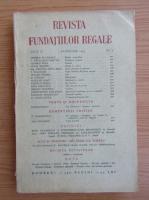 Anticariat: Revista Fundatiilor Regale, anul X, nr. 2, februarie, 1943
