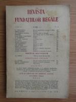 Anticariat: Revista Fundatiilor Regale, anul X, nr. 6, 1 iunie 1943
