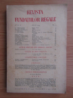Anticariat: Revista Fundatiilor Regale, anul X, nr. 7, 1 iulie 1943