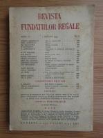 Anticariat: Revista Fundatiilor Regale, anul X, nr. 8, 1 august 1943