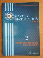 Anticariat: Revista Gazeta Matematica, Seria B, anul CXXI, nr. 2, 2016