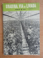 Anticariat: Revista Gradina, via si livada, anul IX, nr. 3, martie 1960