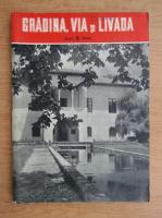 Anticariat: Revista Gradina, via si livada, anul IX, nr. 5, mai 1960