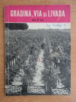 Anticariat: Revista Gradina, via si livada, anul X, nr. 7, iulie 1961