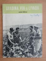 Anticariat: Revista Gradina, via si livada, anul X, nr. 8, august 1961