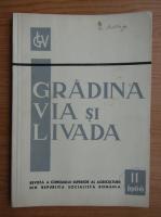 Revista Gradina, via si livada, nr. 11, noiembrie 1966