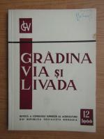 Revista Gradina, via si livada, nr. 12, decembrie 1966