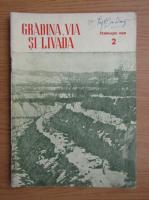 Revista Gradina, via si livada, nr. 2, februarie 1958