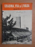 Revista Gradina, via si livada, nr. 2, februarie 1961