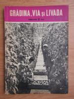 Revista Gradina, via si livada, nr. 2, februarie 1962