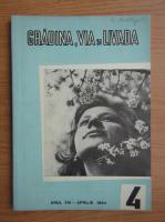 Revista Gradina, via si livada, nr. 4, aprilie 1964
