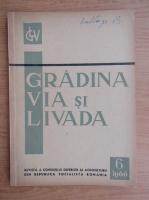 Anticariat: Revista Gradina, via si livada, nr. 6, iunie 1966