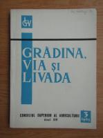 Revista Gradina, via si livada, nr. 6, martie 1965