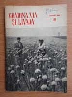 Revista Gradina, via si livada, nr. 8, august 1959