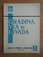 Anticariat: Revista Gradina, via si livada, nr. 8, august 1965