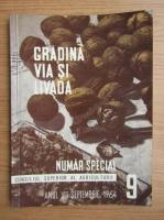 Anticariat: Revista Gradina, via si livada, nr. 9, septembrie 1964