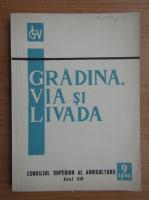 Revista Gradina, via si livada, nr. 9, septembrie 1965