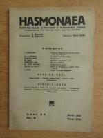 Revista Hasmonaea, anul XX, nr. 9, martie 1939