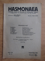 Revista Hasmonaea, anul XXI, nr. 2-3, august-septembrie 1939