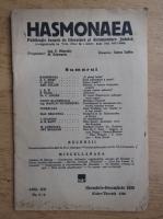 Revista Hasmonaea, anul XXI, nr. 5-6, noiembrie-decembrie 1939