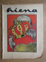 Revista Hiena, anul III, nr. 1, 15 octombrie 1922