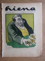 Revista Hiena, anul III, nr. 2, 22 octombrie 1922