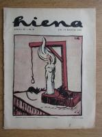 Anticariat: Revista Hiena, anul III, nr. 20, 15 martie 1923